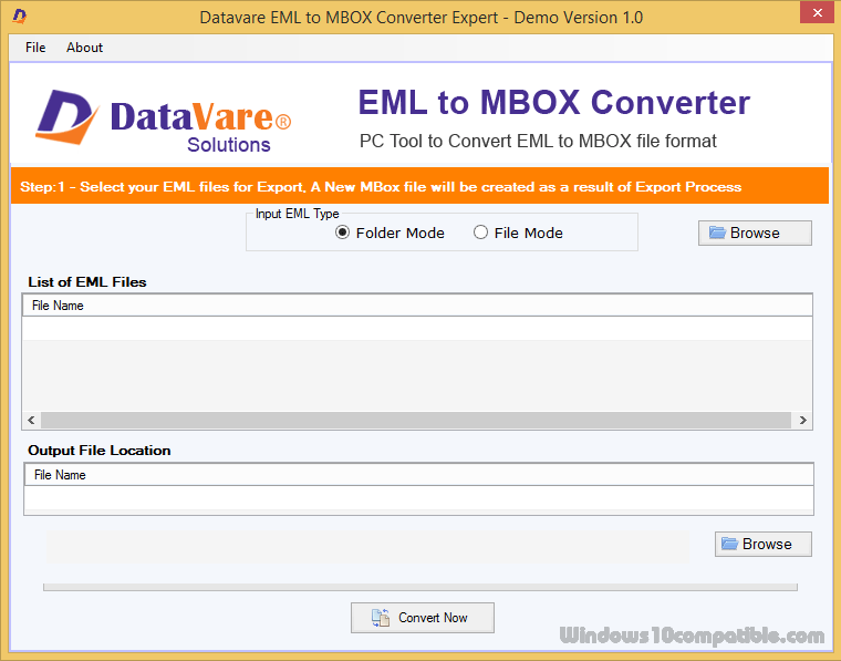 DataVare EML to MBOX Converter Expert 1 0 Free download